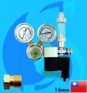 SeaSun (Co2 Diffuser) JL Aquatic Equipment Co2 Regulator (G5/8 Type)