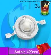 SeaSun (LED Lamp) Chanzon 3w Blue 420nm