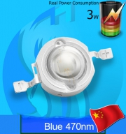 SeaSun (LED Lamp) Chanzon 3w Blue 470nm