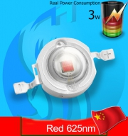 SeaSun (LED Lamp) Chanzon 3w Red 625nm