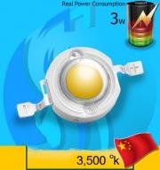 SeaSun (Led Lamp) Chanzon 3w White  3500k