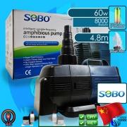 Sobo (Water Pump) Amphibious Pump BO-8000A (8000 L/hr)(60w)(H 4.8m)