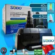 Sobo (Water Pump) Amphibious Pump BO-6000A (6000 L/hr)(40w)(H 4.0m)