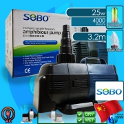 Sobo (Water Pump) Amphibious Pump BO-4000A (4000 L/hr)(25w)(H 3.2m)