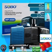 Sobo (Water Pump) Submersible Pump WP-4500 (2000 L/hr)(40w)(H 2m)