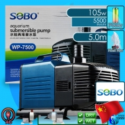 Sobo (Water Pump) Submersible Pump WP-7500 (5500 L/hr)(105w)(H 5m)