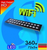Spectra (Led Lamp) AquaHelios M018 R 90 360w Wifi Reef (Suitable 36-48 inc)
