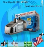 Taam (Water Pump) Rio Hyper Flow 26HF (6600 L/hr)(100w)