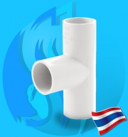 """Thaipipe (Accessories) White PVC 3 Ways Joint TS40 38mm (1 1/2"""")"""