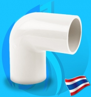 """Thaipipe (Accessories) White PVC 90 Degree Joint TS40 38mm (1 1/2"""")"""