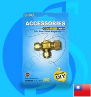 Up Aqua (Co2 Accessory) Co2 Fine Valve Regulator G-503